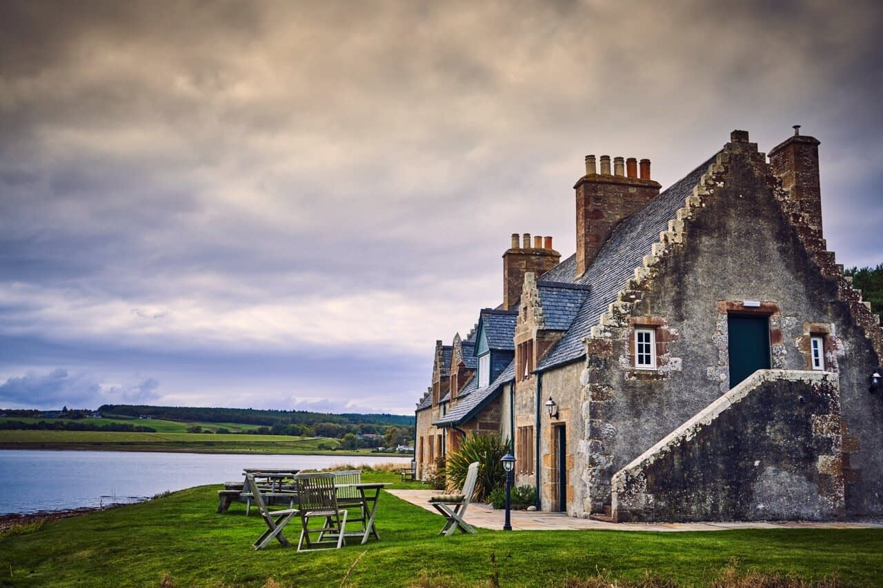 The Old Granary views - Dunrobin Holiday Cottages, Caithness
