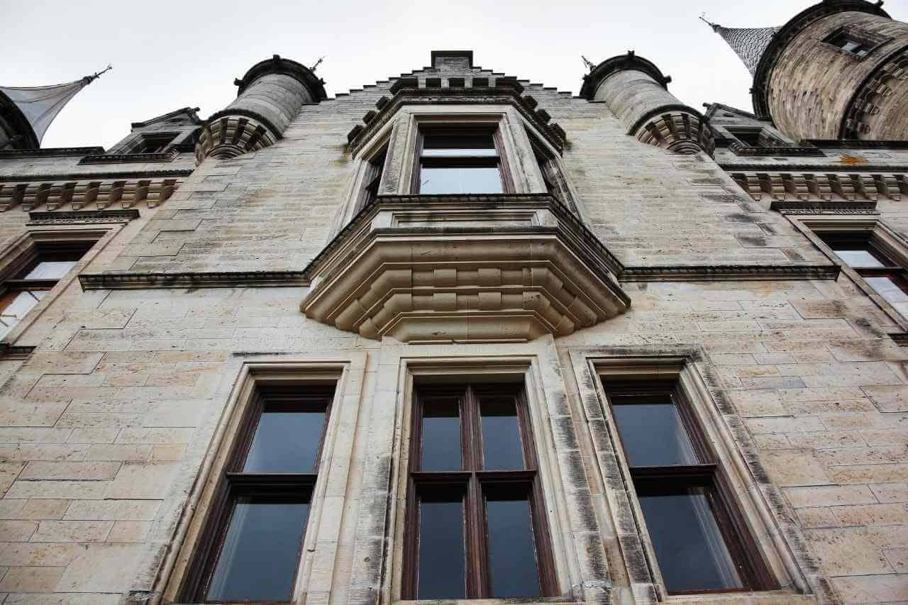 Close up of Dunrobin Castle Architecture