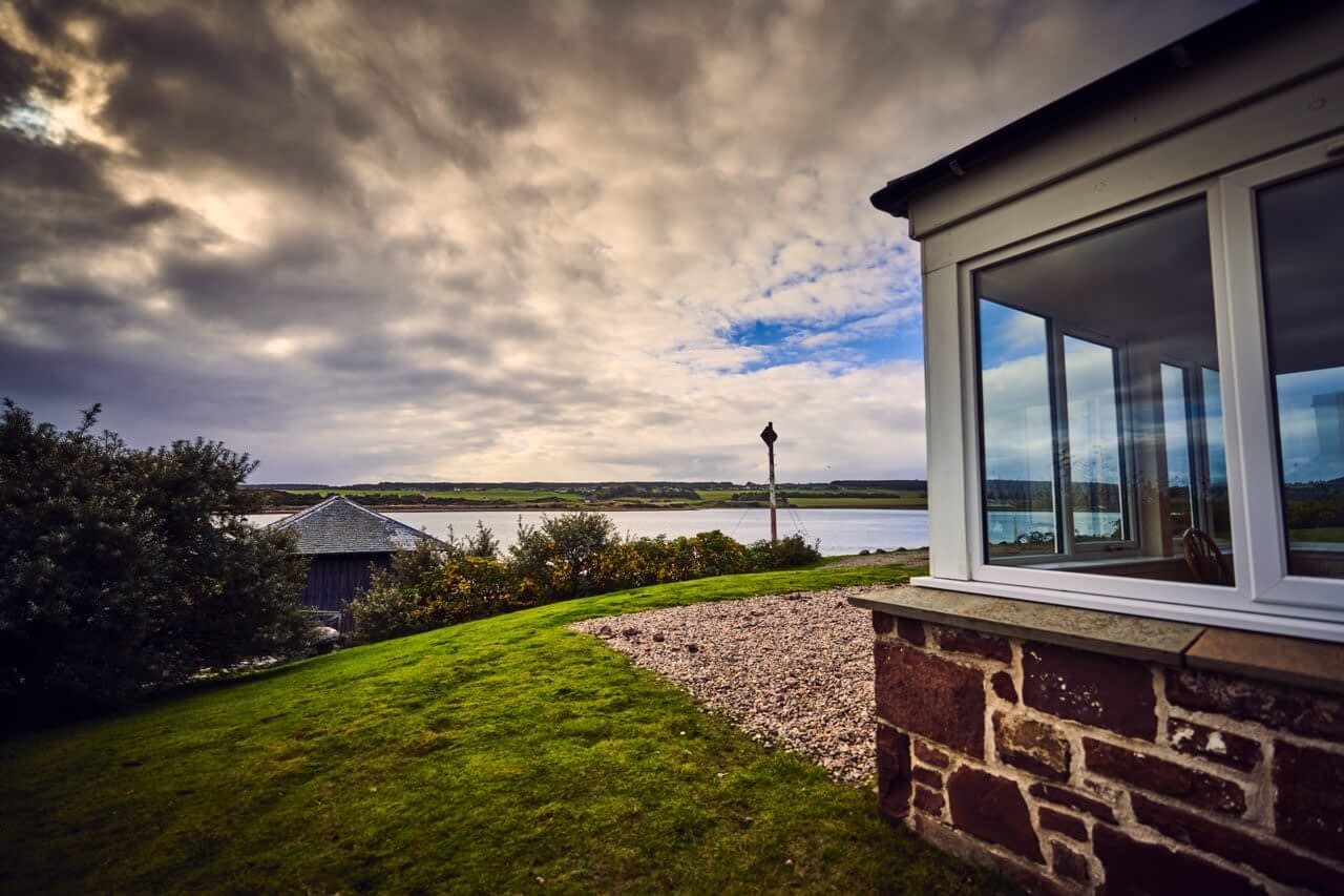 Loch Fleet Nature Reserve at Customs House - Dunrobin Holiday Cottages, Caithness