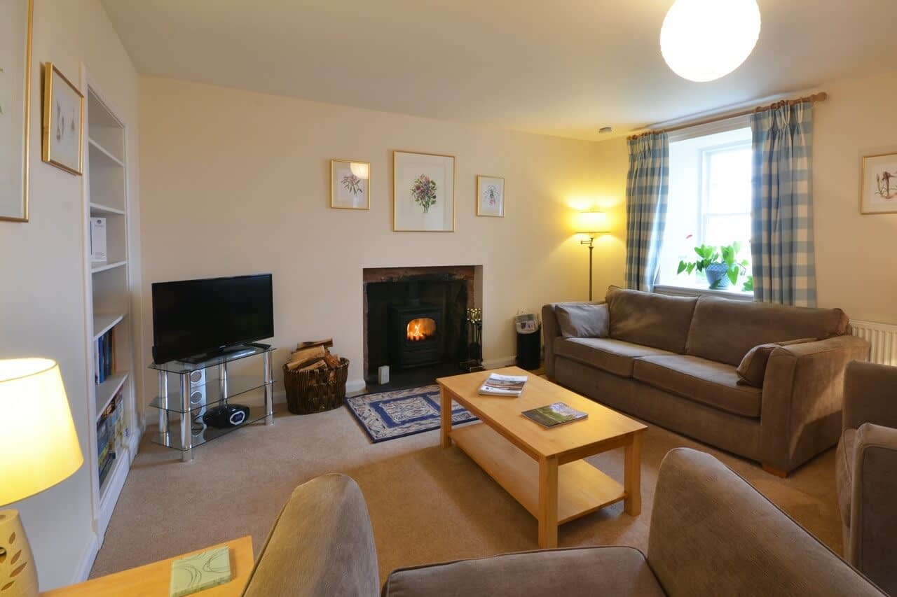 Open plan living space Customs House - Dunrobin Holiday Cottages, Caithness