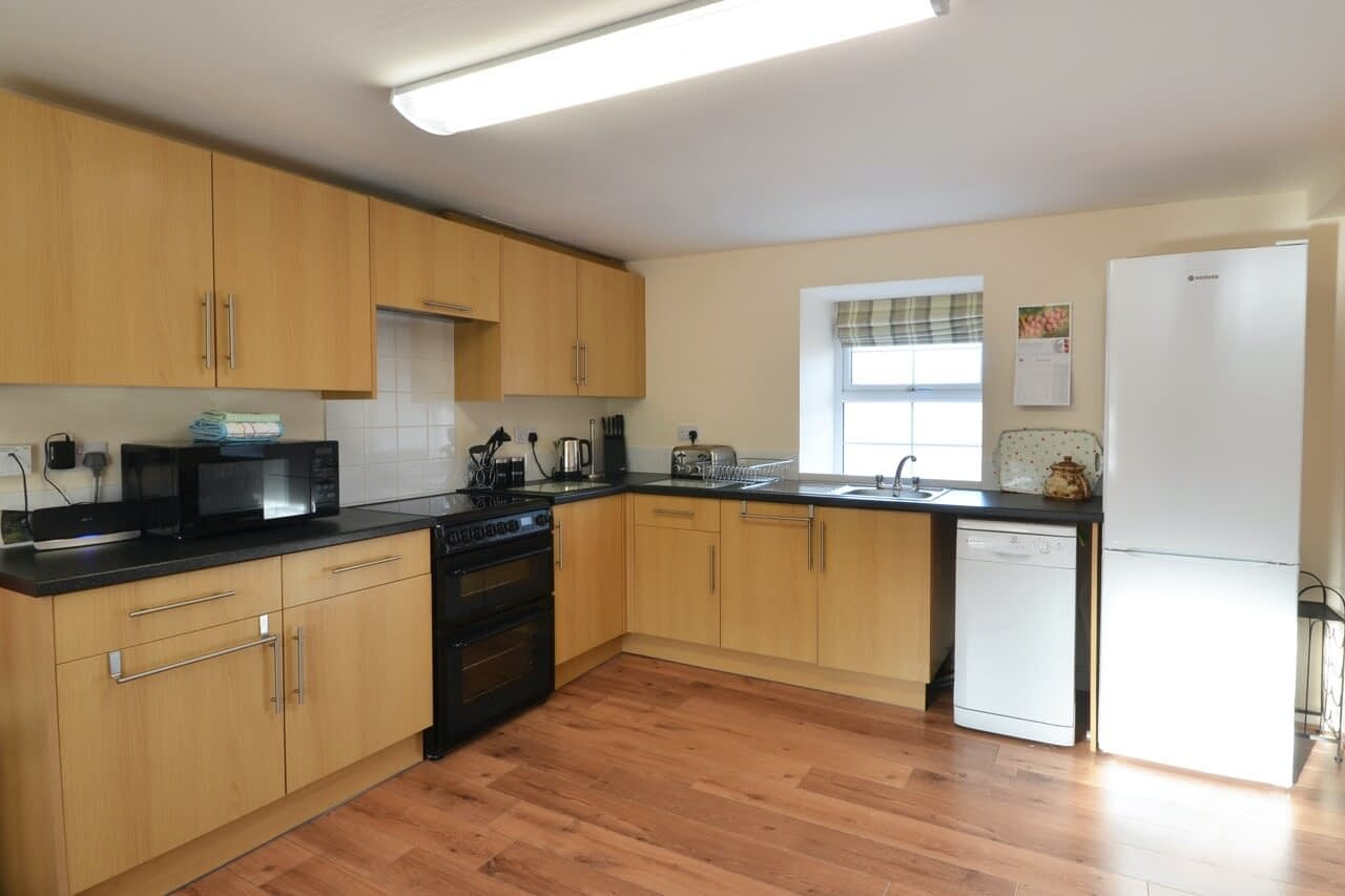 Kitchen Keepers Cottage - Dunrobin Holiday Cottages, Caithness