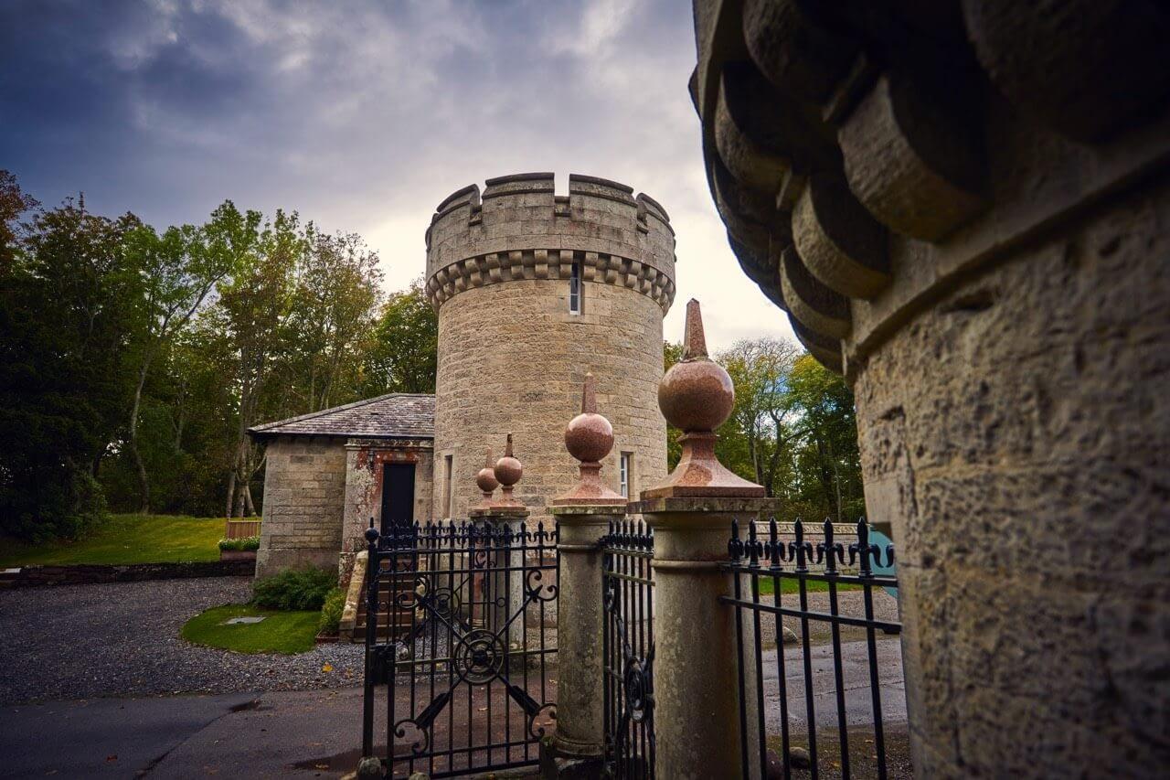 Gates at Porter's Lodge - Dunrobin Holiday Cottages, Caithness