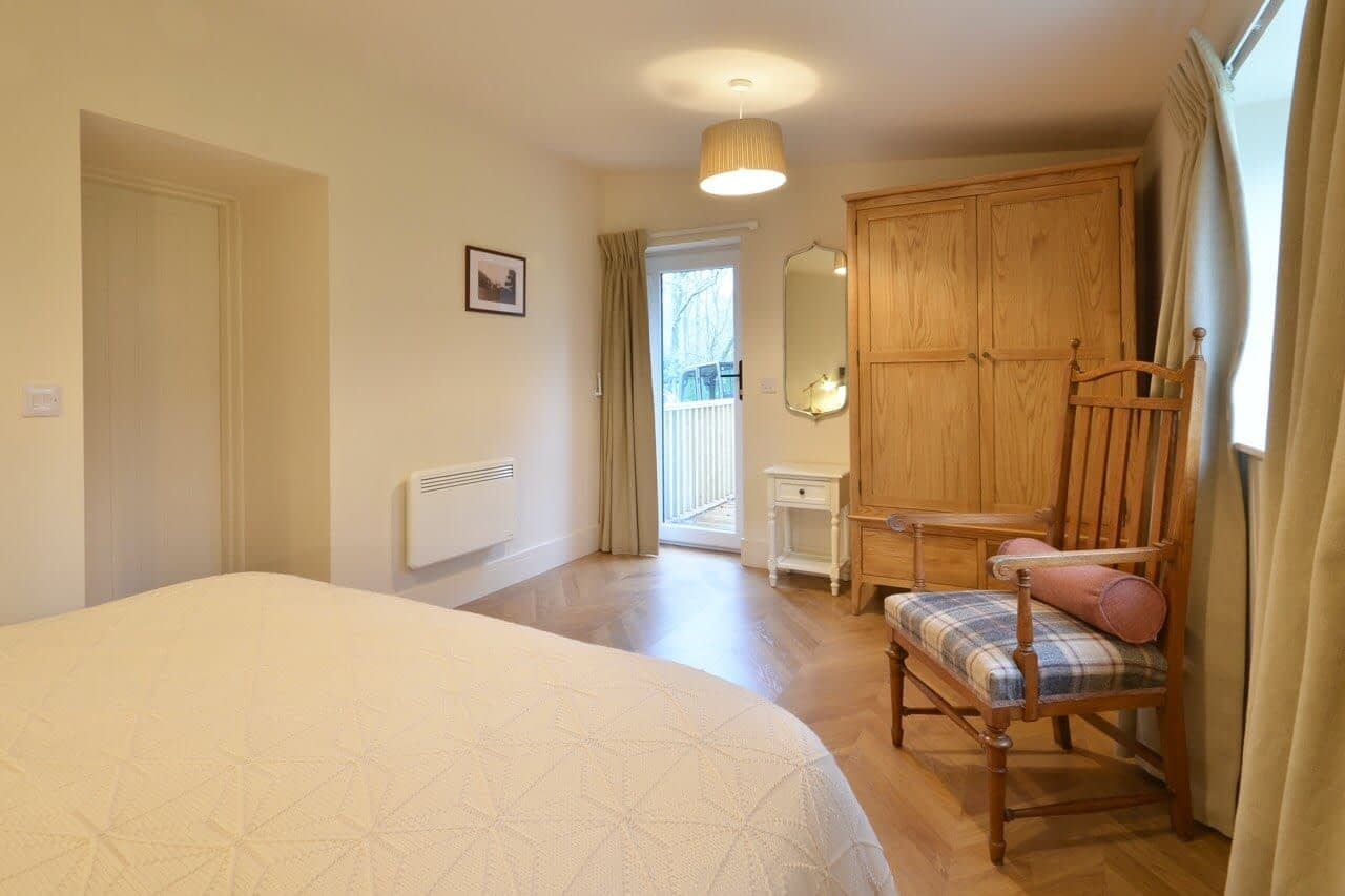 Double bedroom at Porter's Lodge - Dunrobin Holiday Cottages, Caithness