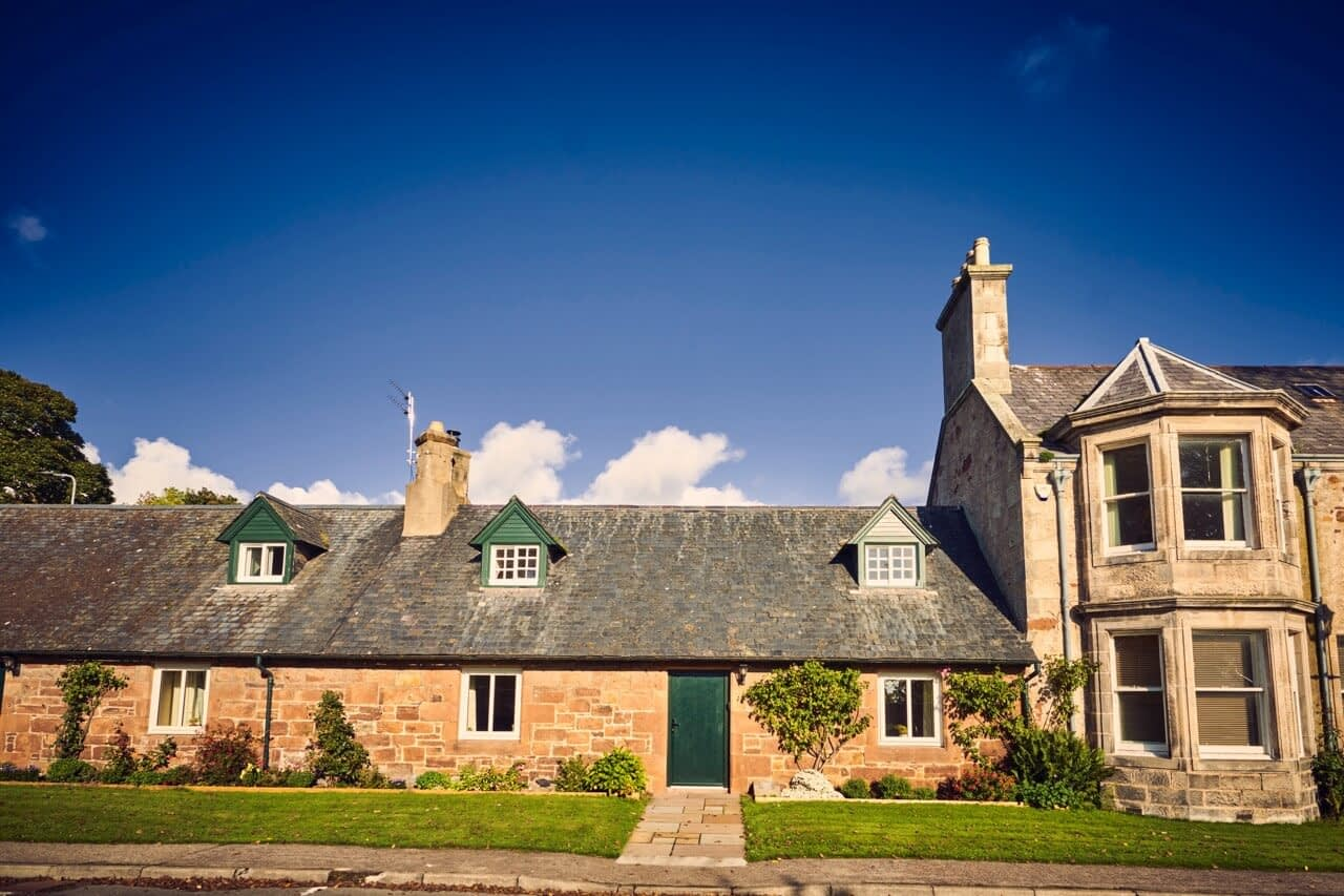 Exterior of Snowdrop Cottage - Dunrobin Holiday Cottages, Caithness