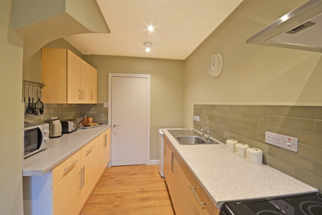 Well equipped modern kitchen Bluebell Cottage - Dunrobin Holiday Cottages, Caithness