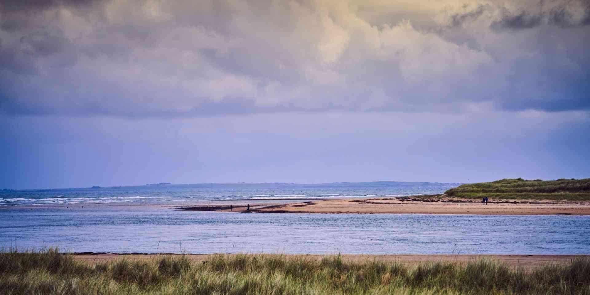 The beach at Golspie Scottish Highlands