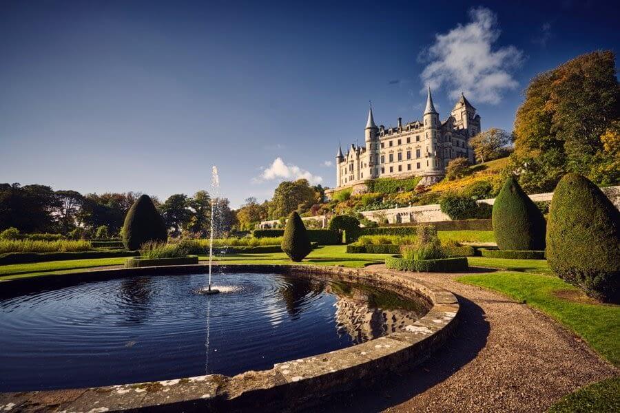 Dunrobin Castle - Dunrobin Holiday Cottages, Caithness