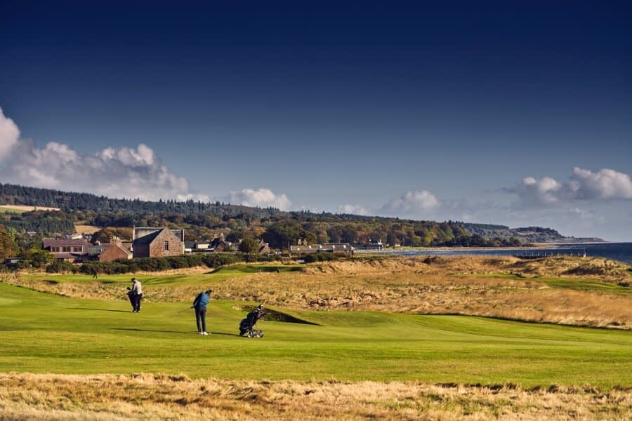 Golfing at Golspie - Dunrobin Holiday Cottages, Caithness